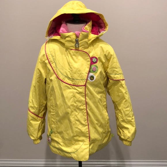 biggest discount greatvarieties various kinds of OBERMEYER yellow ski jacket parka girls size 6